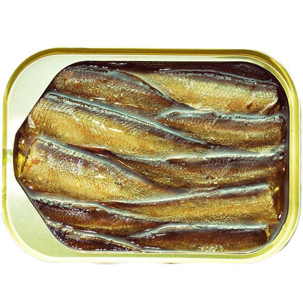 リバワ 燻製イワシ(スプラット)オイル漬