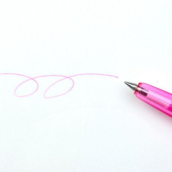 フリクション替芯多色スリム038 ピンク