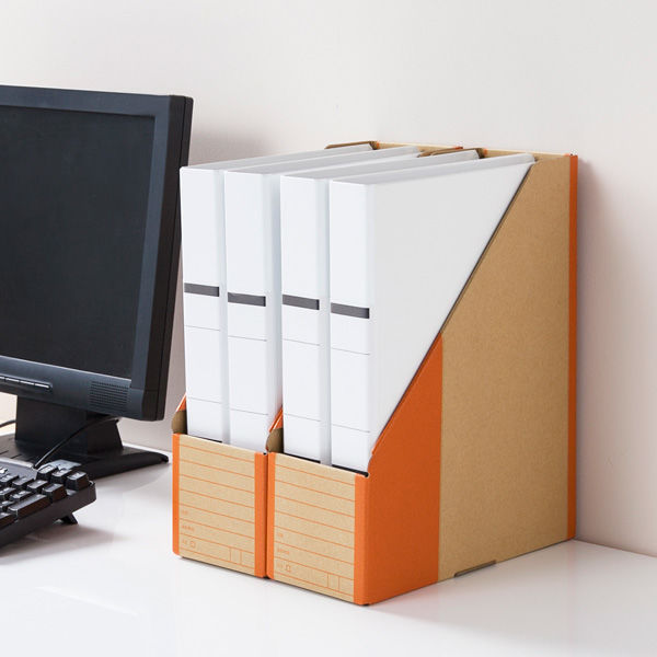 ボックスファイル頑丈設計 A4タテ50冊