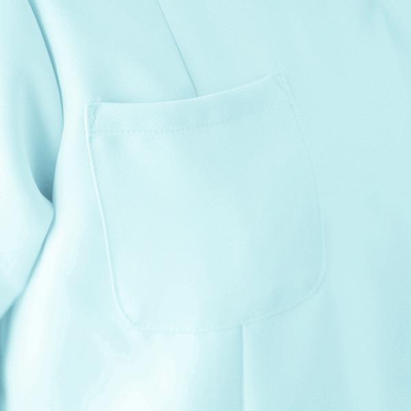 AITOZ(アイトス) ナースジャケット(ベーシック) 女性用 半袖 ホワイト LL 861346-001