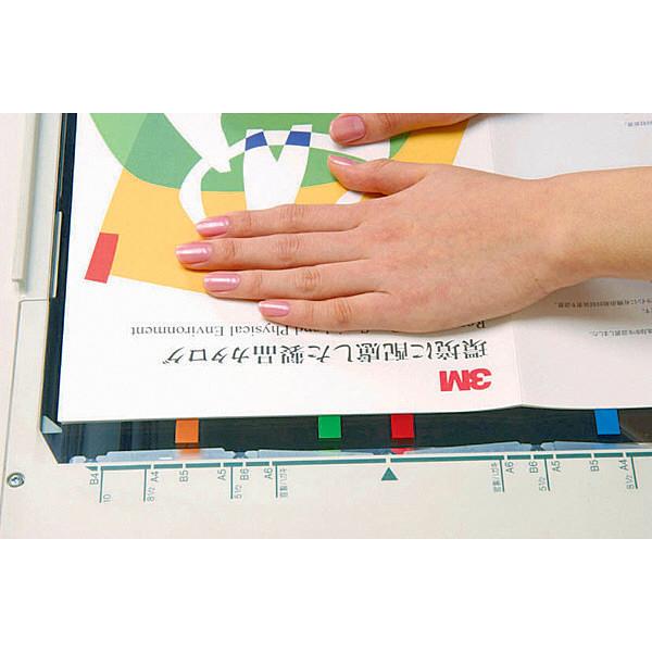 スリーエム ポスト・イット ジョーブ ハーフサイズ 44×12mm ブルー 680H-2 3個 (直送品)