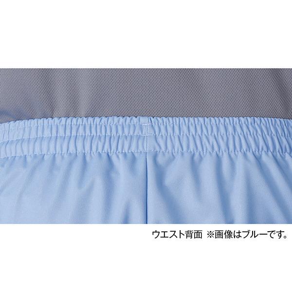 入浴介助用介護ユニフォーム 入浴介護ハーフパンツ 403341 ブルー L 1枚 フットマーク (取寄品)