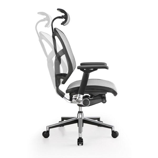 エルゴヒューマン エンジョイ ロータイプ オフィスチェア 3Dファブリックメッシュ 肘付 レッド/KMD32 EJ-LAM 1脚 (直送品)