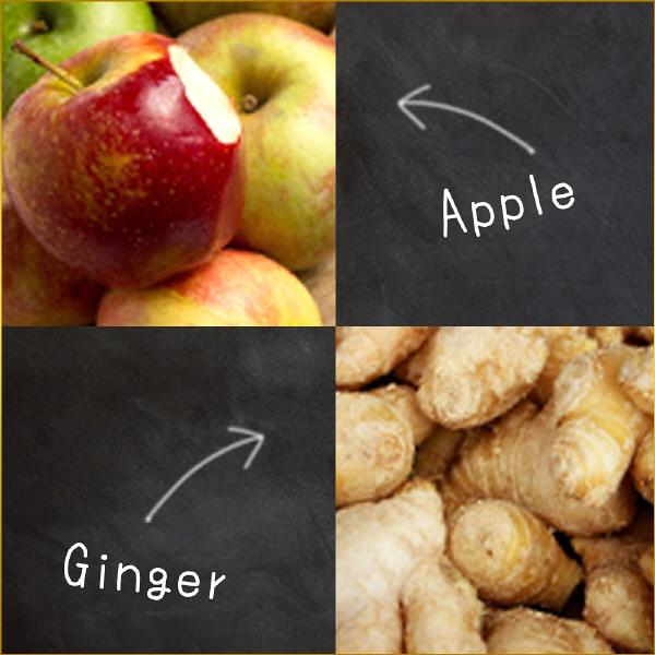 冬の旬レシピ アップルジンジャーセット