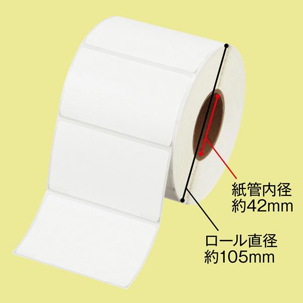 感熱ロールラベル46×78 1巻 大阪シーリング印刷