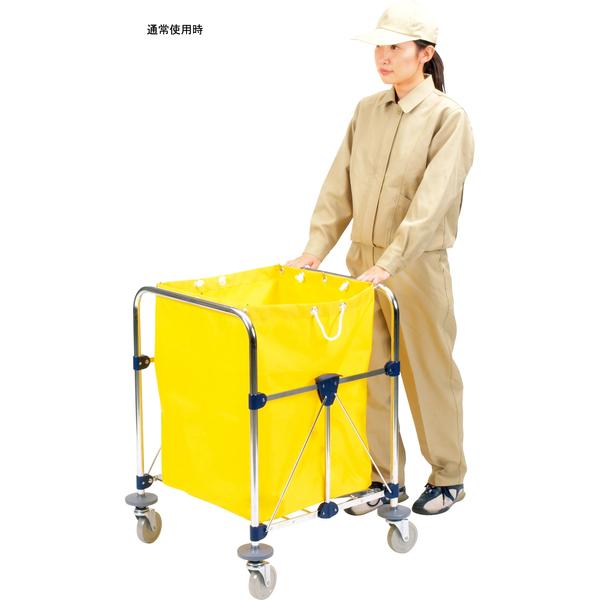 山崎産業 リサイクルカート Y-2 自立式 小 CA452-000X-MB (直送品)