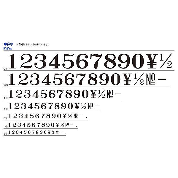 シャチハタ 柄付ゴム印連結式 アルファベット 4号 GRA-4M
