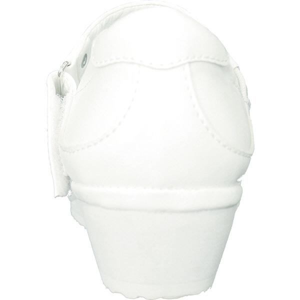 フランシュリッペ 軽量バンドパンプス ホワイト×小花柄 S 90003P ナースシューズ 1足 (取寄品)