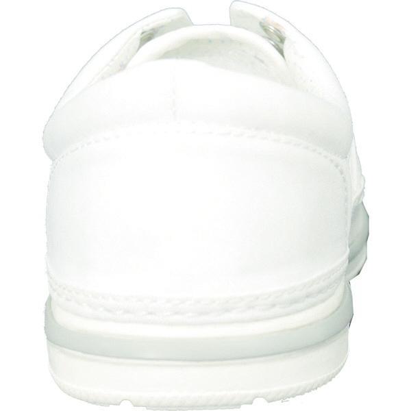 フランシュリッペ 軽量スニーカー ホワイト×小花柄 M 90001P ナースシューズ 1足 (取寄品)