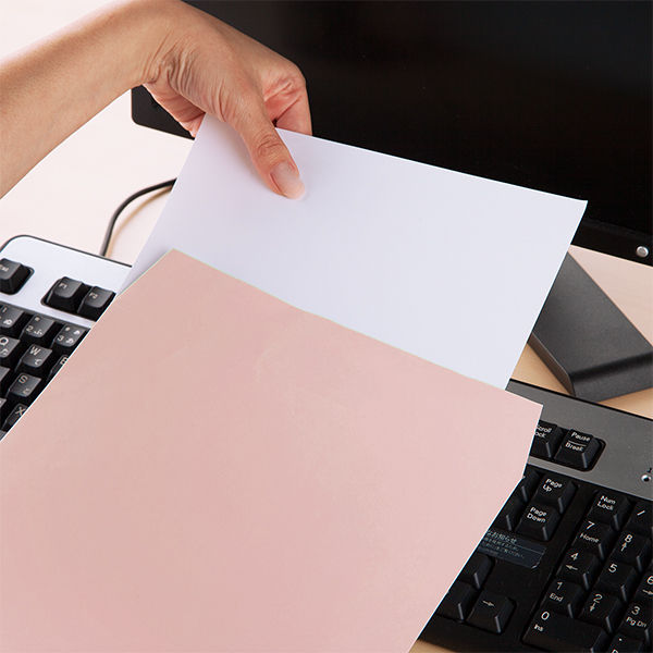ムトウユニパック ナチュラルカラー封筒 角2(A4) ピンク 100枚