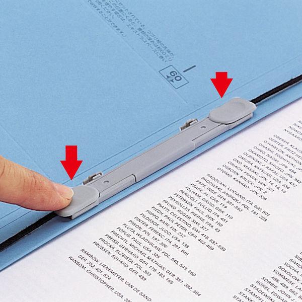 リヒトラブ ユーノビ クイックファイル 伝票サイズ F580-9 1箱(10冊入)