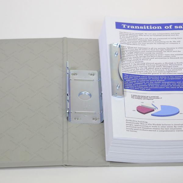 キングファイルG GXシリーズ A4タテ とじ厚50mm背幅66mm グレー キングジム 片開きパイプファイル 975GX 10冊
