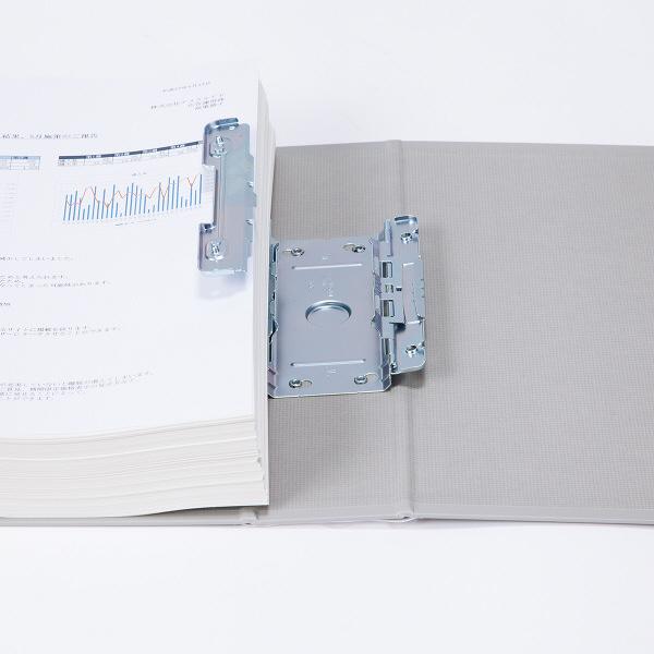 パイプ式ファイル A4縦50mm 3冊