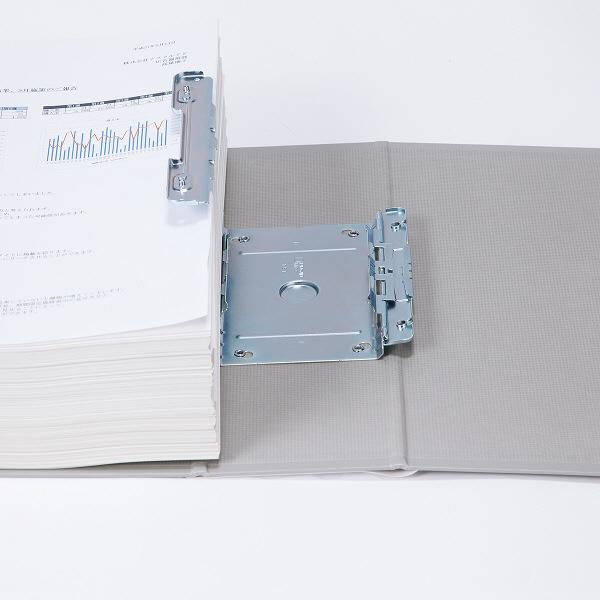 パイプ式ファイル A4縦80mm 3冊