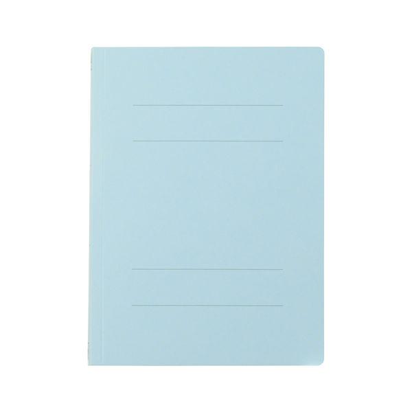 プラス フラットファイル樹脂製とじ具 B5タテ ロイヤルブルー No.031N 10冊