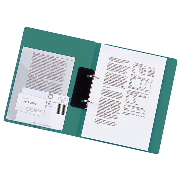 リヒトラブ リングファイル A4タテ 背幅36mm 緑 F877U 1箱(10冊入)