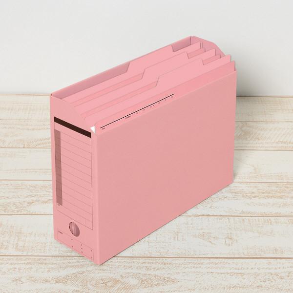 持ち出しフォルダ- A4 ピンク 10枚