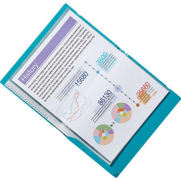 「キングジム クリアファイル A4 二つ折り コンパック」的圖片搜尋結果