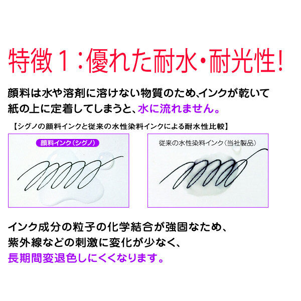三菱鉛筆(uni) ゲルインクボールペン替芯 シグノ 超極細0.28mm UMR-1-28 赤 10本