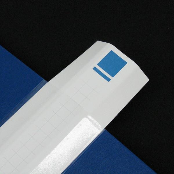 ハピラ 差し替え式クリアーファイル 背幅35mm