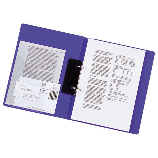 リヒトラブ リングファイル A4タテ 背幅36mm 青 F877U 1セット(30冊:10冊入×3箱)