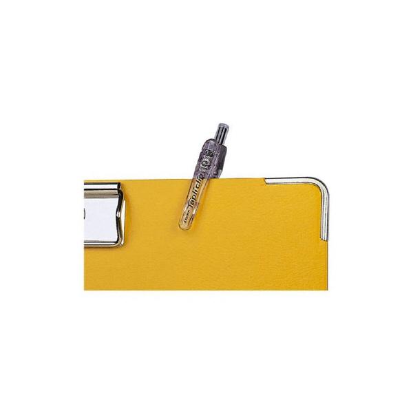 ゼブラ タプリクリップボールペン 0.7mm 赤 BN5-R 1本