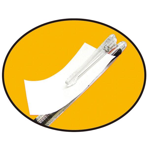 セーラー万年筆 ボールペン 再生工場フェアライン3プラスクリップ クリア 16-8302-202 1箱(10本入)