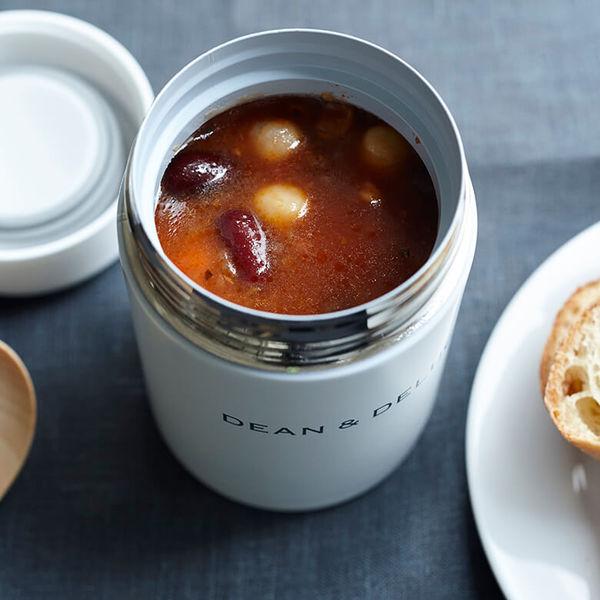 冬は温かいスープ、夏は冷製スープやデザートの持ち運びに!DEAN&DELUCAのスープポット