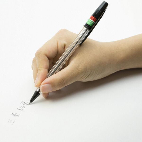 三菱鉛筆(uni) リサイクルボールペン SA-R 黒インク 1本