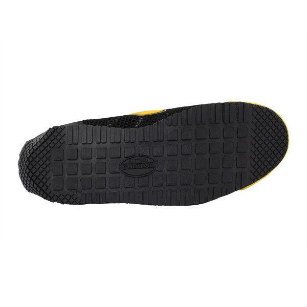 ドンケル R209004015 ディアドラ安全作業靴 キングフィッシャーKFー25 黒&イエロー 28.0cm 1足 (直送品)