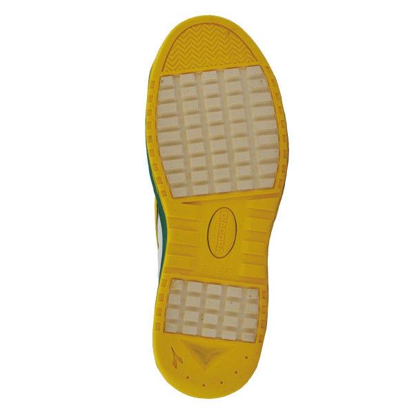 ドンケル R209014512 ディアドラ安全作業靴 キーウィ KWー651緑&イエロー&ホワイト 26.5cm 1足 (直送品)