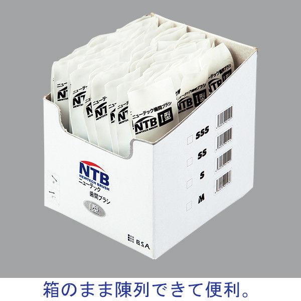 ニューテック歯間ブラシI型 SS(0.8mm) 505022 1箱(50本入) ビー・エス・エーサクライ