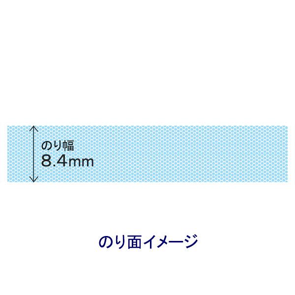正確テープのりtenori強粘着 詰替え