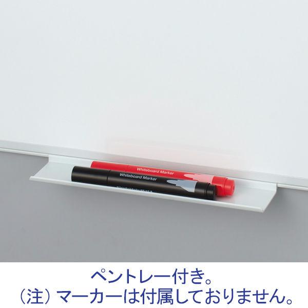 プラス ホーローホワイトボード 行動予定(12人用) 450×600mm WB-0406WHJK