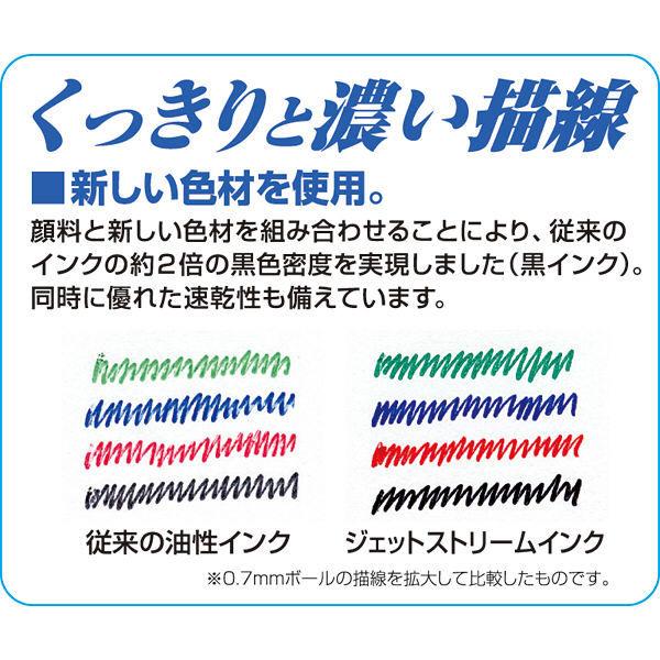 ジェットストリーム3色ボール 0.7 青