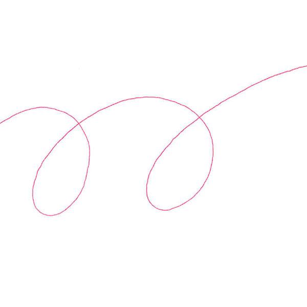 油性ボールペン ジムノック 0.5mm 赤 KRBS-100 ゼブラ