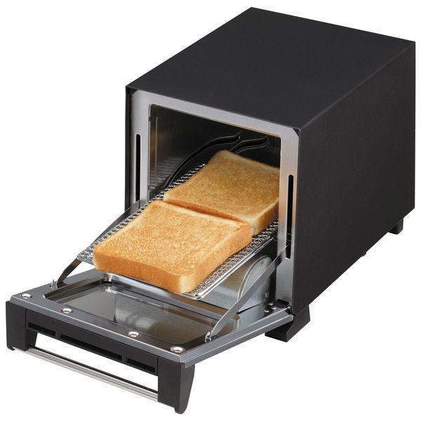 ツインバード スリムオーブントースター黒