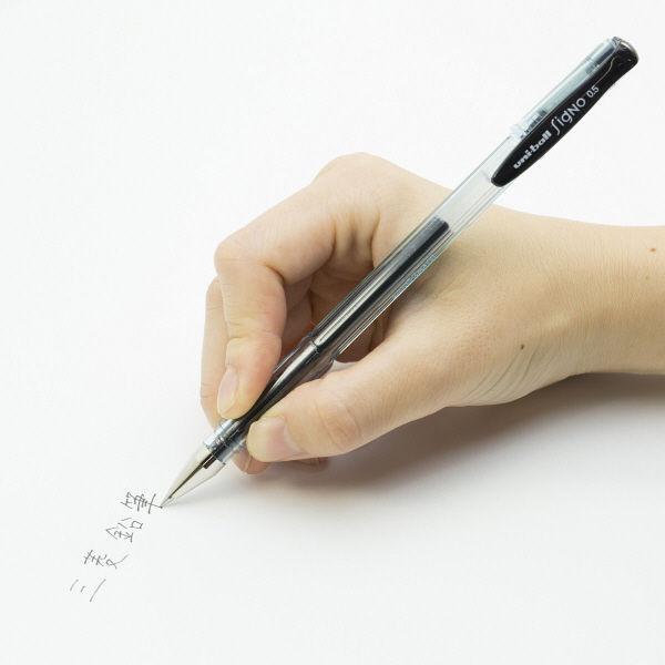 三菱鉛筆(uni) ゲルインクボールペン ユニボールシグノ(エコライター) 0.5mm 黒インク UM100EW.24
