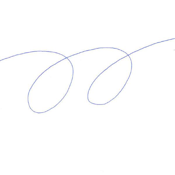 油性ボールペン ジムノック 0.5mm 青 KRBS-100 50本 ゼブラ
