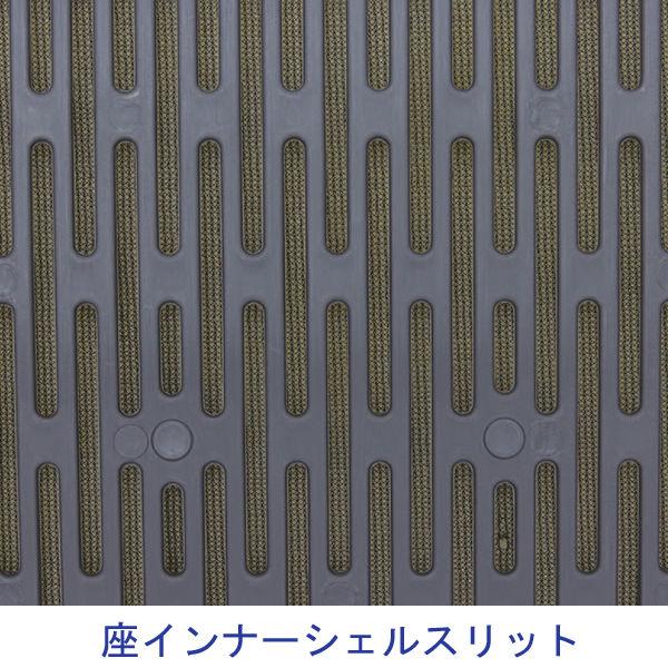 樹脂メッシュスタッキングチェア 4脚入