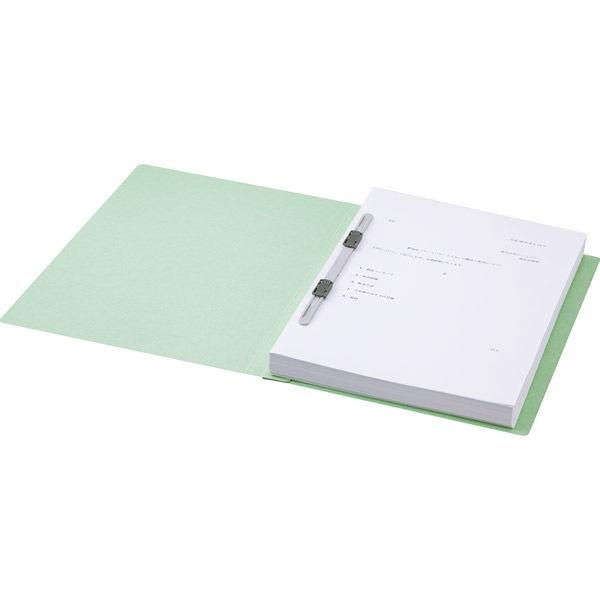 フラットファイル 緑 A4縦 30冊