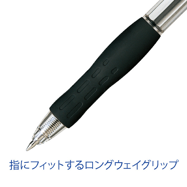 ぺんてる ノック式油性ボールペンRolly(ローリー) 0.7mm 黒 1本