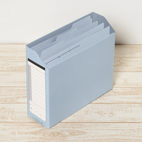 プラス カットフォルダー A4E 青 FL-003PF BL 1パック(3枚入) (直送品)