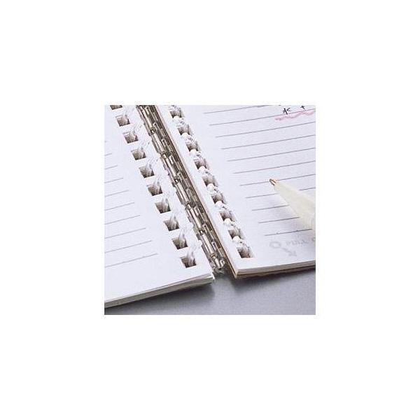 リヒトラブ ツイストリング・ノートA5B罫リーフ N1650 1パック(30枚入) (直送品)