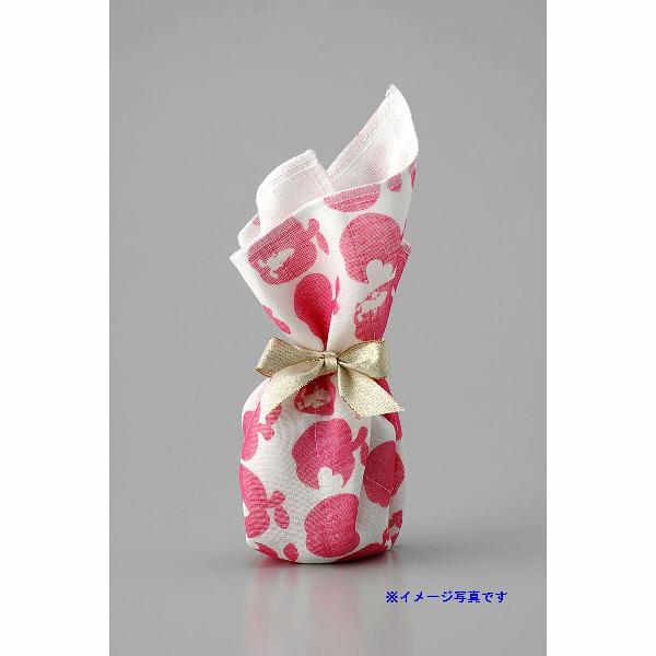 白雪友禅ふきん 桜 ピンク