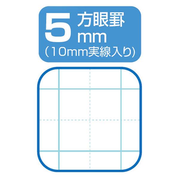 ナカバヤシ 5mm方眼ノート 動物演奏会シリーズ セミb5 7キリン 62338 0 1冊