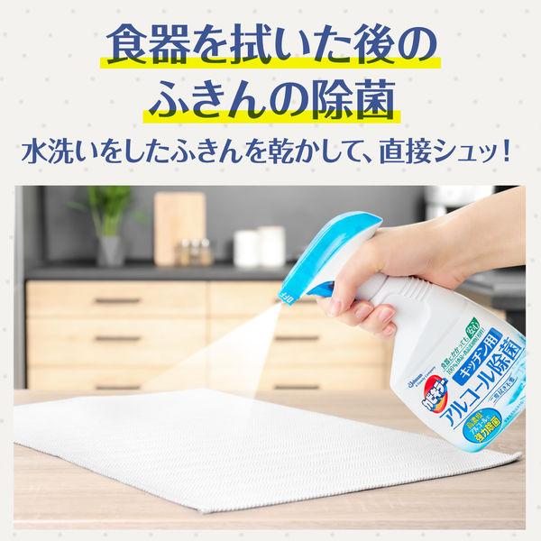 カビキラーアルコール除菌 キッチン用本体