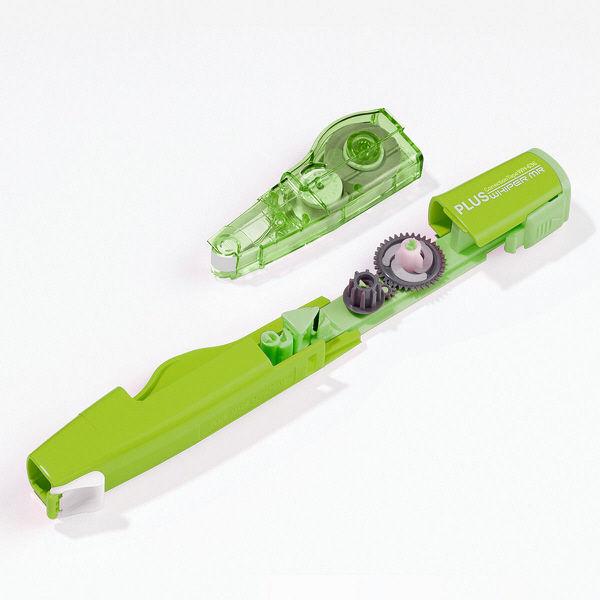 プラス 修正テープホワイパー 詰替 WH-636R 1袋(3個入) (直送品)