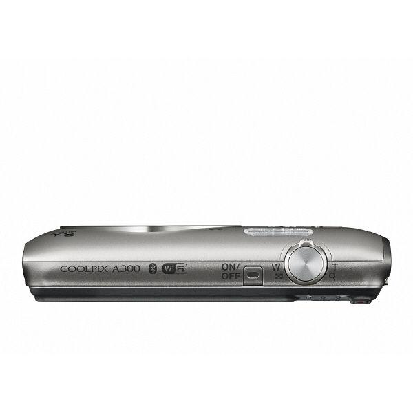 ニコン SnapBridge対応デジタルカメラ シルバー COOLPIX A300SL