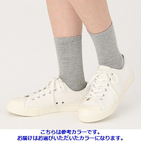 無印 足なり靴下 婦人21-23 3足